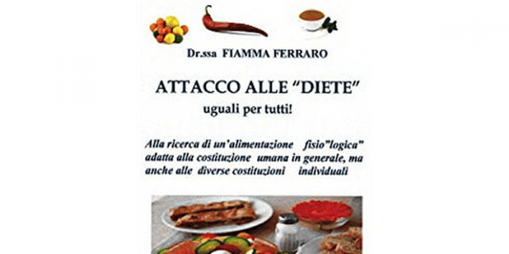 """E-Book: Attacco alle """"Diete"""" Uguali per Tutti"""
